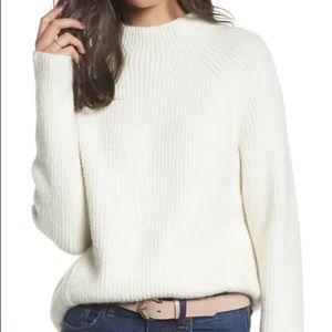 Madewell Northfield Mock Neck Sweater